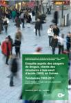 Enquête auprès des usagers de drogue, clients des structures à bas-seuil d'accès (SBS) en Suisse. Tendances 1993-2011