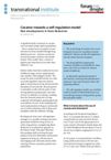Cocaine: towards a self-regulation model. New developments in harm reduction
