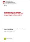 Monitorage suisse des addictions. Consommation d'alcool, de tabac et de drogues illégales en Suisse en 2015