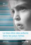 Le bien-être des enfants dans les pays riches. Vue d'ensemble comparative