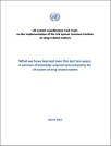 What we have learned over the last ten years: A summary of knowledge acquired and produced by the UN system on drug-related matters