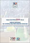 Bilan d'activité 2019 de la Mission nationale de contrôle des précurseurs chimiques [MNCPC]