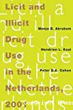 Licit and illicit drug use in the Netherlands, 2001