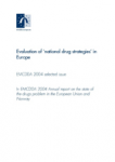 Évaluation des « stratégies nationales antidrogue » en Europe (Question particulière n°1)