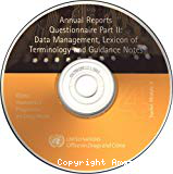 Annual Reports Questionnaire (ARQ) part II: Data management, Lexicon of terminology and Guidance notes