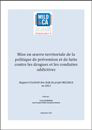 Mise en oeuvre territoriale de la politique de prévention et de lutte contre les drogues et les conduites addictives. Rapport d'activité des chefs de projet MILD&CA en 2013