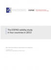 The ESPAD validity study in four countries in 2013