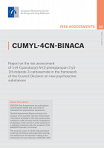 CUMYL-4CN-BINACA. Report on the risk assessment of 1-(4-Cyanobutyl)-N-(2-phenylpropan-2-yl)-1H-indazole-3-carboxamide (CUMYL-4CN-BINACA) in the framework of the Council Decision on new psychoactive substances
