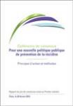 Conférence de consensus - Pour une nouvelle politique publique de prévention de la récidive : principes d'action et méthodes. Rapport du jury de consensus remis au Premier ministre