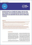 Exposition à la fumée de tabac sur le lieu de travail et au domicile entre 2014 et 2018 : résultats du baromètre de Santé publique France