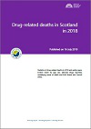 Drug-related deaths in Scotland in 2018