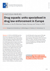 Drug squads: units specialised in drug law enforcement in Europe. Situation in the EU Member States, Norway and Turkey in 2015