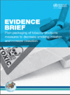 Evidence brief - Plain packaging of tobacco products: measures to decrease smoking initiation and increase cessation