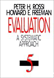 Evaluation. A systematic approach