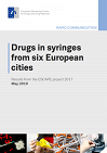 Drugs in syringes from six European cities. Results from the ESCAPE project 2017