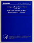 Emergency department trends from the Drug Abuse Warning Network, final estimates 1995-2002