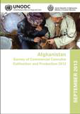 Afghanistan survey of commercial cannabis cultivation and production 2012