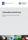 Cannabis au volant. Foire aux questions pour l'élaboration de politiques