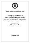 Changing patterns of substance misuse in adult prisons and service responses. A thematic review by HM Inspectorate of Prisons