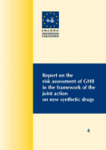 Report on the risk assessment of GHB in the framework of the joint action on new synthetic drugs