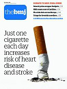 Low cigarette consumption and risk of coronary heart disease and stroke: Meta-analysis of 141 cohort studies in 55 study reports