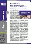 Tendances, n°134 - Septembre 2019 - Les addictions dans le programme « Un chez soi d'abord ». Profils et trajectoires de consommation