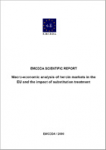 Macro-economic analysis of heroin markets in the EU and the impact of substitution treatment