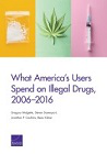 What America's users spend on illegal drugs, 2006-2016