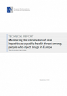 Monitoring the elimination of viral hepatitis as a public health threat among people who inject drugs in Europe. The elimination barometer