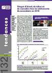 Tendances, n°132 - Juin 2019 - Usages d'alcool, de tabac et de cannabis chez les adolescents du secondaire en 2018
