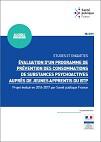 Évaluation d'un programme de prévention des consommations de substances psychoactives auprès de jeunes apprentis du bâtiment et des travaux publics. Projet évalué en 2016-2017 par Santé publique France