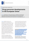 Drug precursor developments in the European Union