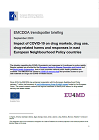 EMCDDA trendspotter briefing. Impact of COVID-19 on drug markets, drug use, drug-related harms and responses in east European Neighbourhood Policy countries