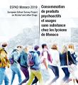 ESPAD Monaco 2019 - European School Survey Project on Alcohol and other Drugs. Consommation de produits psychoactifs et usages sans substance chez les lycéens de Monaco