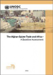 The Afghan opiate trade and Africa - A baseline assessment 2016