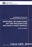 Recommended methods for the identification and analysis of amphetamine, methamphetamine and their ring-substituted analogues in seized materials. Manual for use by national drug testing laboratories