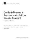 Gender differences in response to alcohol use disorder treatment. A systematic review