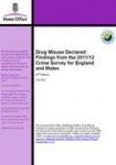 Drug misuse declared: Findings from the 2011/12 Crime Survey for England and Wales (2nd edition)