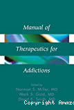 Manual of therapeutics for addictions
