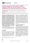 Enquête nationale sur la remise de matériel d'injection stérile pour les pharmacies en 2016. Résultats pour le canton de Vaud et pour la Suisse