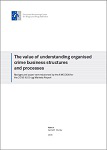The value of understanding organised crime business structures and processes. Background paper commissioned by the EMCDDA for the 2016 EU Drug Markets Report