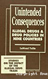 Unintended consequences : illegal drugs and drug policies in nine countries