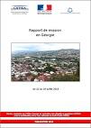 Rapport de mission en Géorgie du 22 au 28 juillet 2018