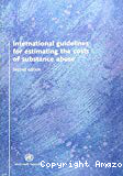 International guidelines for estimating the costs of substance abuse