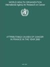 Attributable causes of cancer in France in the year 2000