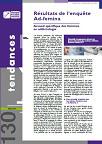 Tendances, n°130 - Mars 2019 - Résultats de l'enquête Ad-femina. Accueil spécifique des femmes en addictologie