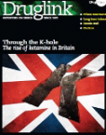 Druglink, Vol.26, n°6 - November-December 2011 - Through the K-hole. The rise of ketamine in Britain