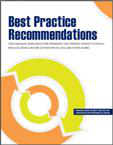 Best practice recommendations for Canadian harm reduction programs that provide service to people who use drugs and are at risk for HIV, HCV, and other harms. Part 1