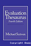 Evaluation thesaurus. Fourth edition