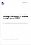 European Questionnaire on Drug Use among Prisoners (EQDP) 2017